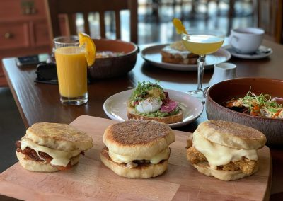 House-made English Muffin Sandwich